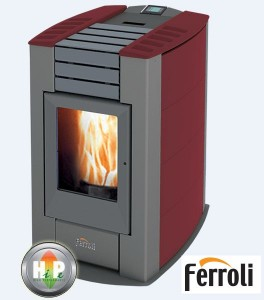 poza Semineu peleti FERROLI SIRIO CERAMIC 12,83 kW
