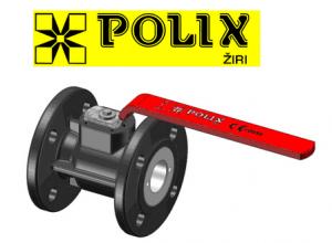 poza Robinet cu sfera pe flansa POLIX PN 16 DN 80