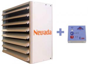 poza Aeroterma electrica industriala STAVOKLIMA Nevada 2E - 10 kW