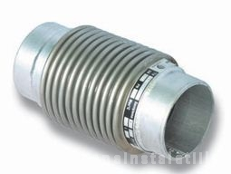 poza Compensator axial cu cap pentru sudare L60mm DN250