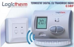 poza Termostat de ambient fara fir LogicTherm C3RF