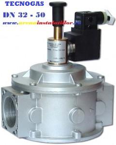 poza Electrovalva de gaz TECNOGAS M16/RM N.A 1 1/4 ( DN 32)