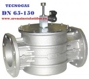 poza Electrovalva de gaz TECNOGAS M16/RM N.A DN150