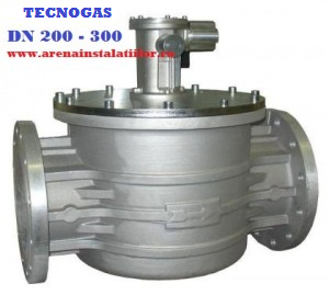 poza Electrovalva de gaz TECNOGAS M16/RM N.A DN 200