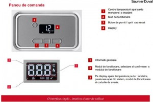 Poza Panou comanda Centrala termica Saunier Duval Thelia Condens 25-A