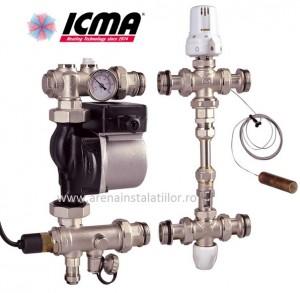 poza Grup de amestec ICMA M055 cu pompa Wilo 25/60