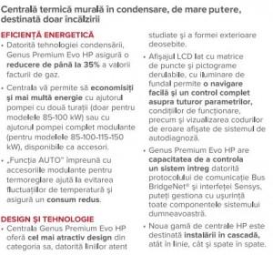 Poza avantaje 1 ARISTON GENUS PREMIUM EVO HP 150 EU