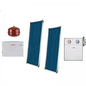 poza Pachet panouri solare Bosch 2 FCC220-2V + ISM 1 - acoperis inclinat
