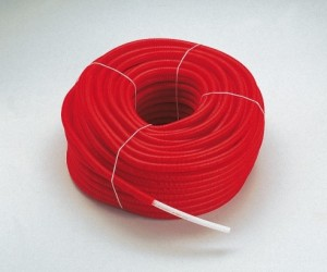 poza Teava cu bariera de oxigen Tiemme Cobrapex 16x2 mm cu izolatie rosie - colac 100 ml