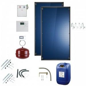poza Sistem 2 Panouri solare CKN2.0-s, accesorii