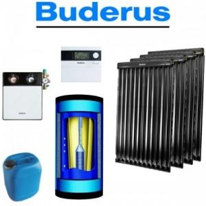 poza Pachet panouri Buderus Logasol 4 x SKR12.1R cu boiler combinat 750 l