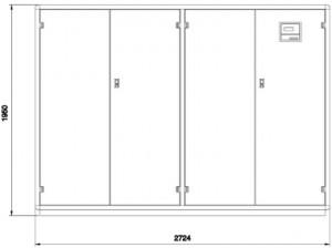 Poza Dulap de climatizare MONTAIR Close Control DINAMICA XLT   XLB  5