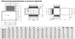 Poza Aeroterma pe gaz pentru tubulatura ADRIAN AIR AR 3