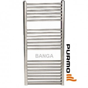 poza Radiator de baie Purmo Banga Cromat 600x1807 mm - 758 W