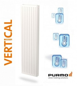 poza Radiator vertical Purmo VR20/2100/300 mm - 935 W