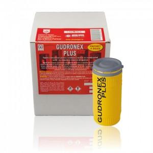 poza Agent concentrat pentru curatari grele cazane combustibil solid Chemstal Gudronex PLUS 4 doze 300 g