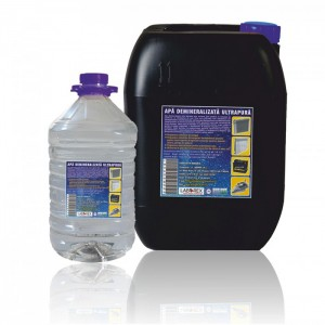 poza Apa demineralizata ultrapura Chemstal 5 kg