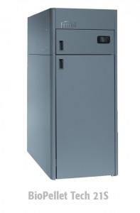 poza Centrala termica pe peleti Ferroli BioPellet Tech 21 S – 21 kW