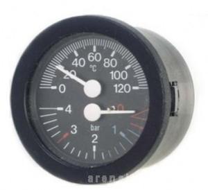 poza Termomanometru cu capilar CEWAL TI52P 0/120°C 0/6 bar 1/4''