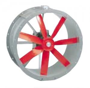 poza Ventilator axial tubulatura Soler Palau TBT/4-900 5.5KW