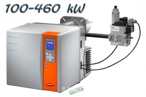 poza Arzator gaz NC46 GX207A DN30/30 T2 - 100-460 kW