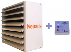 poza Aeroterma electrica industriala STAVOKLIMA Nevada 1E - 4.5 kW