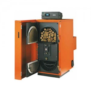 poza Centrala termica pe lemne cu gazeificare ARCA REGOVENT INOX RV120 R - 114 kW