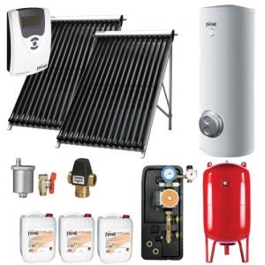 poza Pachet solar Ferroli Ecotube New 15 si boiler Ecounit 300-2C WT