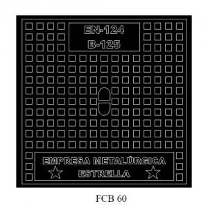 poza Capac fonta necarosabil B-125 FCB60
