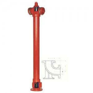 poza Hidrant SUPRATERAN de incendiu DN65/80
