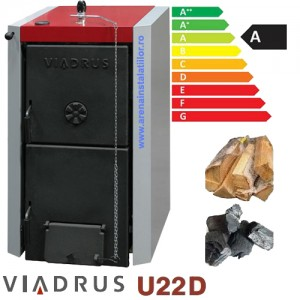 poza Centrala termica pe lemne Viadrus U22 D5 - 25 KW + TRANSPORT GRATUIT