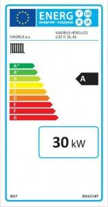 Poza Clasa energetica Centrala termica pe lemne Viadrus U22 D6