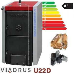 poza Centrala termica pe lemne Viadrus U22 D7 - 35 KW + TRANSPORT GRATUIT