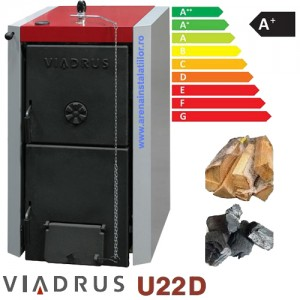 Poza Centrala termica pe lemne Viadrus U22 D7