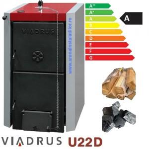 poza Centrala termica pe lemne Viadrus U22 D10 - 49 KW + TRANSPORT GRATUIT