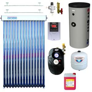 poza Pachet solar GOBE SC-H-20-5818 si boiler Hajdu Aquastic 200 litri