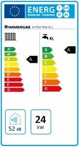 Poza Clasa energetica Centrala termica pe gaz in condensare IMMERGAS VICTRIX TERA 24/28 1