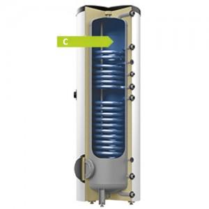 poza Boiler cu 2 serpentine Reflex Storatherm Aqua Solar AF 200/2_C - 200 litri