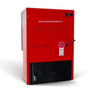 Poza Cazan pe peleti Biodom 30 - 30 kW