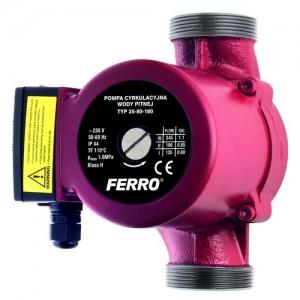 poza Pompa circulatie pentru apa potabila FERRO 25-80 180