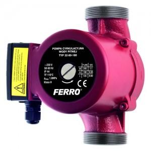 poza Pompa circulatie pentru apa potabila FERRO 32-80 180