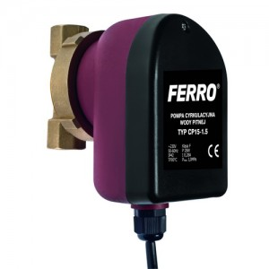 poza Pompa circulatie FERRO C.W.U. tip CP 15-1.5