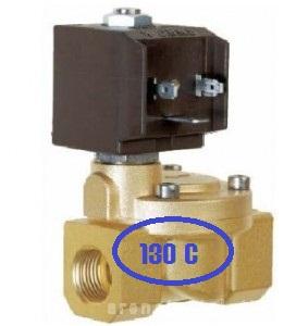 poza Electrovana de apa normal inchis CEME ESM 8615 EPDM - 3/4 temp max. 130 de grade