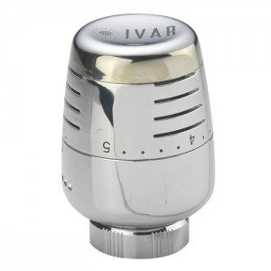 poza Cap termostat cu comanda si senzor incorporat IVAR T 5000 Cromat