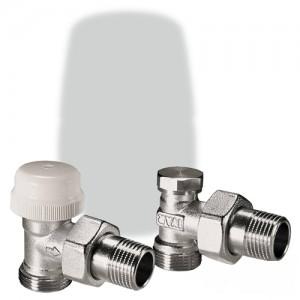 poza Kit robineti radiator IVAR KS 306 1/2 - EK unghi