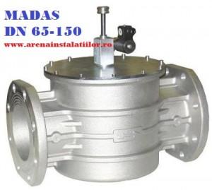 poza Electrovalva de gaz MADAS M16/RM N.A DN 125