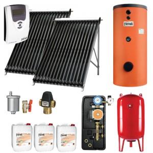 poza Pachet solar Ferroli Ecotube New 15 si boiler Ecounit 200-2C WB