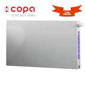 poza Radiator panou otel orizontal cu ventil COPA 11x600x2600