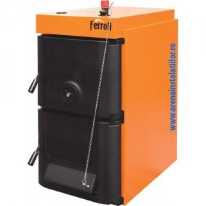 Poza Cazan din fonta pt. combustibil solid lemn/carbune Ferroli SFR Pro 7 - 38/46 kW