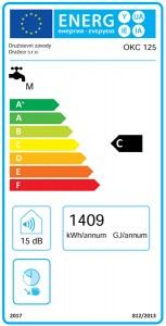 Poza Clasa energetica Boiler termoelectric DRAZICE OKC 125